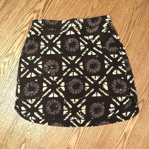 Madewell 100% Silk Mini Skirt XS